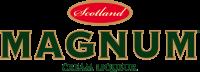 Magnum Cream combines Benriach single malt Scotch whisky and Dutch cream, bottled in Edinburgh by the BenRiach distillery.